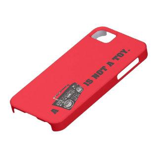 Boombox no es un juguete funda para iPhone SE/5/5s