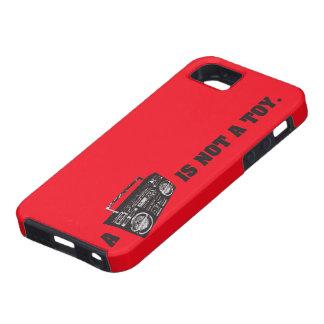 Boombox no es un juguete iPhone 5 carcasas