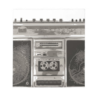 Boombox Note Pad
