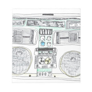 Boombox Notepad