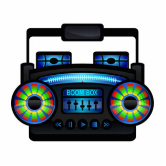 Boombox Cut Outs