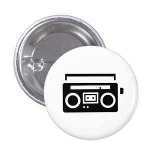 'Boombox' Pictogram Button