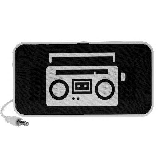 Boombox Pictogram Doodle Speaker