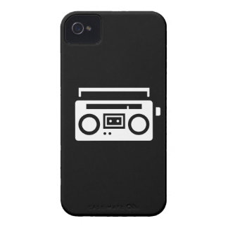Boombox Pictogram iPhone 4 Case