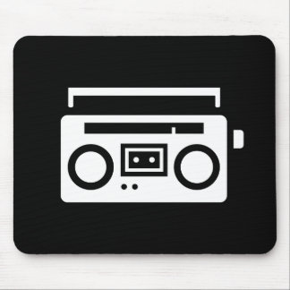 Boombox Pictogram Mousepad