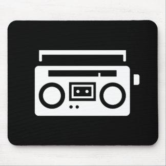 Boombox Pictogram Mousepad