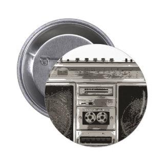 Boombox Pin Redondo 5 Cm