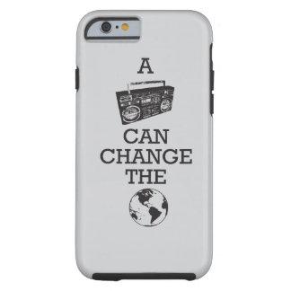 Boombox puede cambiar el mundo funda para iPhone 6 tough