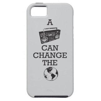 Boombox puede cambiar el mundo iPhone 5 fundas