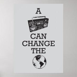 Boombox puede cambiar el mundo impresiones