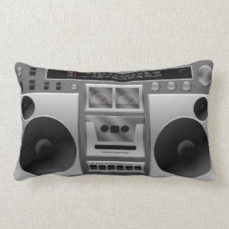 Boombox Radio Graphic Pillows
