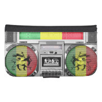 boombox reggae galaxy s4 wallet case