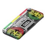 boombox reggae iPhone 4/4S cases