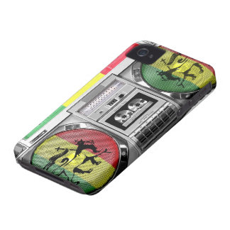 boombox reggae iPhone 4 Case-Mate case