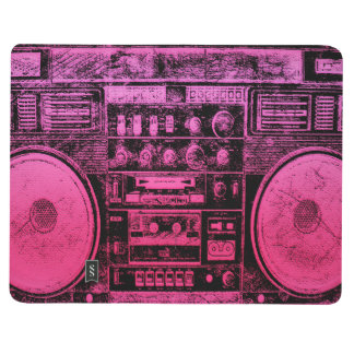 boombox rosado cuadernos