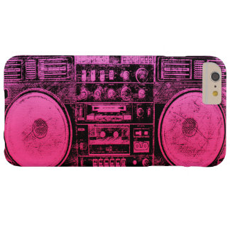 boombox rosado funda barely there iPhone 6 plus