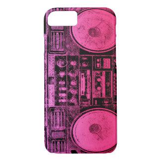 Boombox rosado funda iPhone 7
