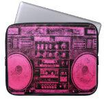 Boombox rosado funda ordendadores