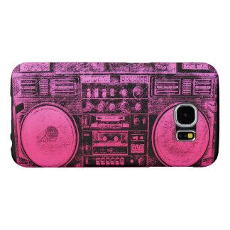 boombox rosado funda samsung galaxy s6