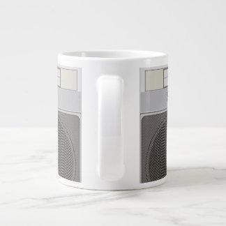Boombox 20 Oz Large Ceramic Coffee Mug