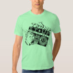Boombox TRUMP IT UP Lime American Apparel T-Shirt