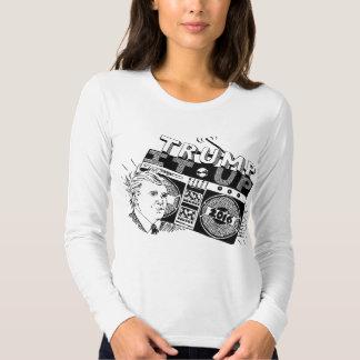 Boombox TRUMP IT UP Longsleeve American Apparel T-Shirt