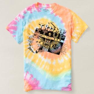 Boombox TRUMP IT UP Pastel Swirl Tie Dye TShirt