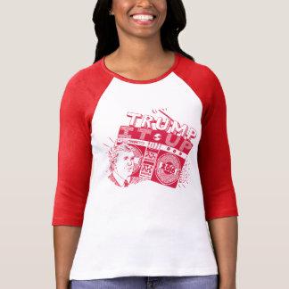 Boombox TRUMP IT UP! Red + White Bella Raglan Top