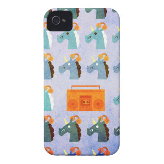 BoomBox Unicorn Case-Mate iPhone 4 Case