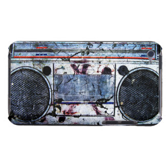 Boombox urbano cubierta para iPod de barely there