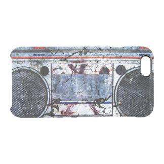 Boombox urbano funda clear para iPhone 6/6S