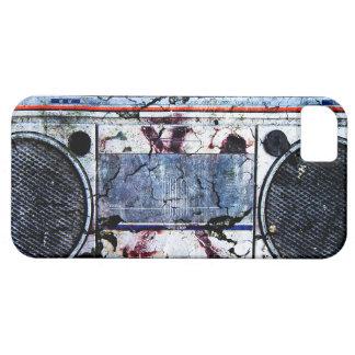 Boombox urbano funda para iPhone SE/5/5s
