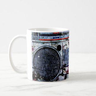 Boombox urbano taza de café