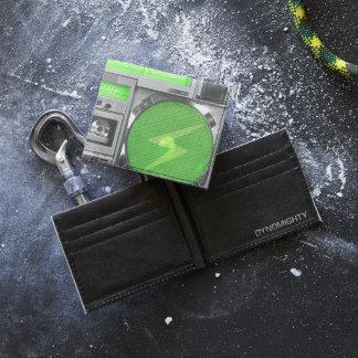 Boombox verde billeteras tyvek®