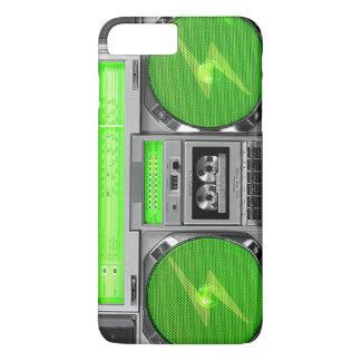 Boombox verde funda iPhone 7 plus