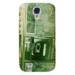 Boomboxer orange green galaxy s4 case