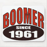 BOOMER 1961 MOUSE PAD