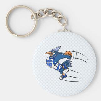 Boomer Blue Jay Keychain