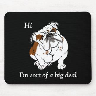 Boomer the Bulldog Mouse Pad
