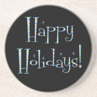 Boomerang Happy Holidays! Coaster