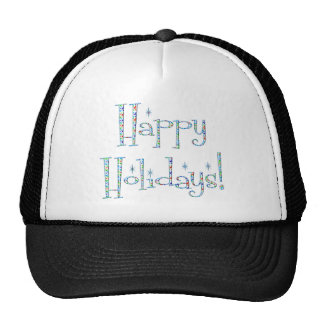 Boomerang Happy Holidays! Trucker Hat