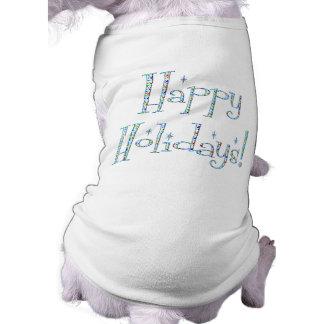 Boomerang Happy Holidays! Pet Tee Shirt