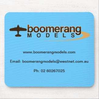 Boomerang Models Mouse Pad