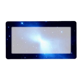Boomerang Nebula (Hubble Telescope) Label