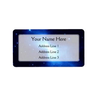 Boomerang Nebula (Hubble Telescope) Custom Address Labels