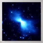 Boomerang Nebula (Hubble Telescope) Print