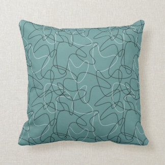Boomerang Pattern 1 Throw Pillow