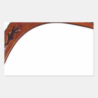 Boomerang Rectangular Sticker