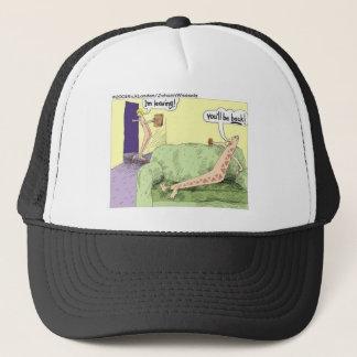 Boomerang Relagionships Funny Cartoon Gifts & Tees Trucker Hat