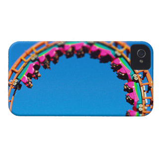 Boomerang Roller Coaster Worlds of Fun, KC Case-Mate iPhone 4 Cases